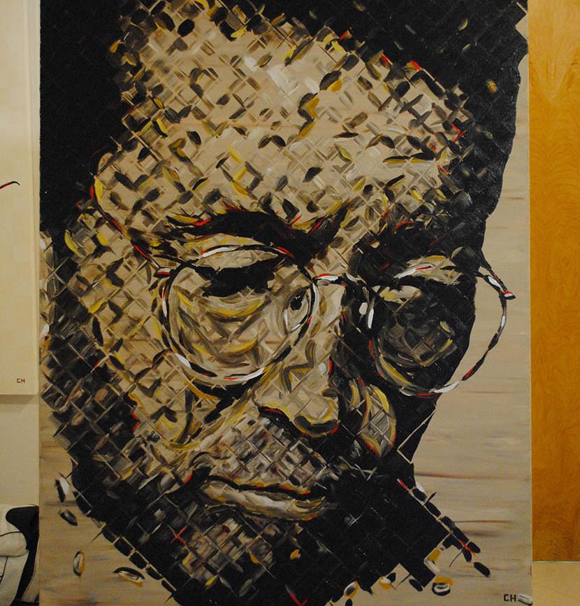 Eric Clapton Painting - Charlie Hanavich Art