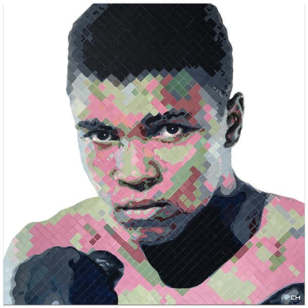 Muhammad Ali Painting by artist, Charlie Hanavich