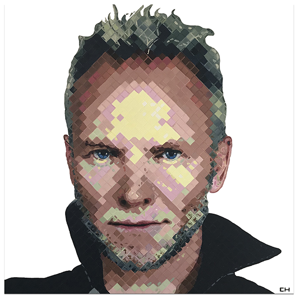 Sting by Contemporary artist Charlie Hanavich